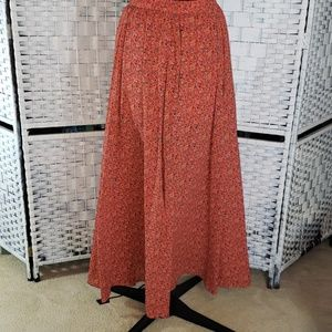 Abercrombie & Fitch  Red Skirt  Small.